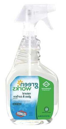 Glass Cleaner, 32 oz., Green, PK12