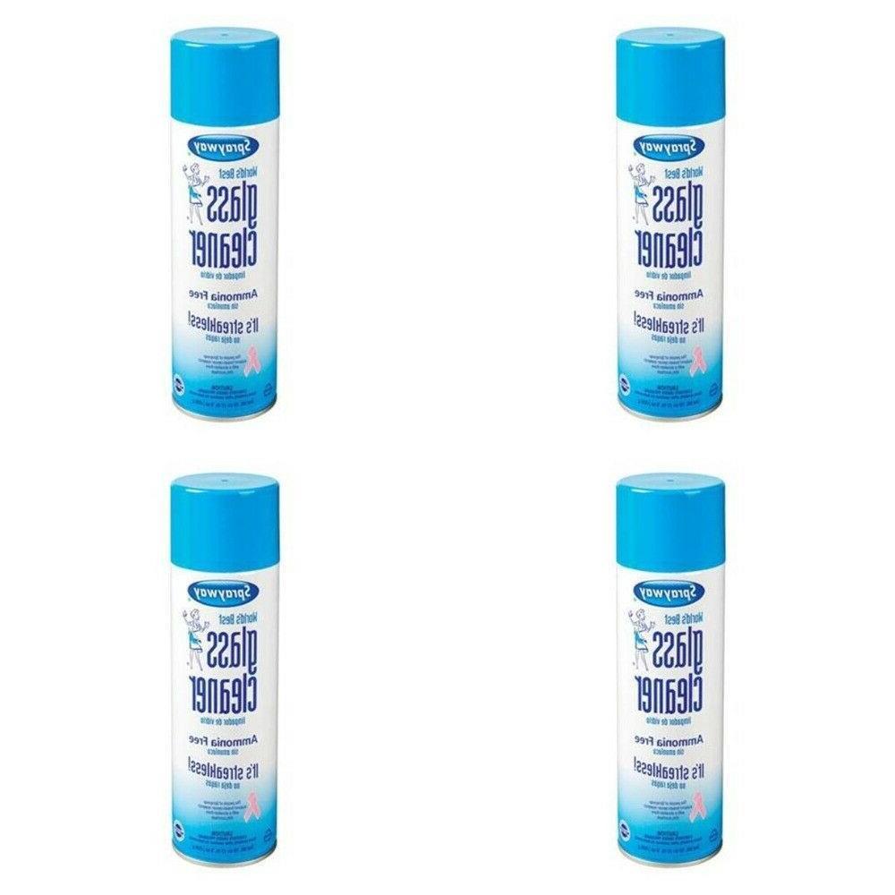 glass cleaner streak free ammonia free heavy