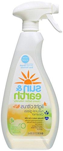 Natural Glass Cleaner - Light Citrus Scent - Non-Toxic, Plan