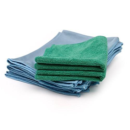 Microfiber Cleaning - Pack Lint Free Free   Easily Clean Mirrors