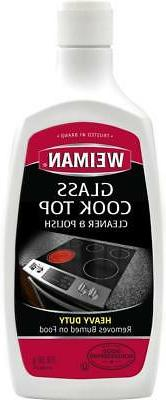 Weiman Glass Cook Top  Cleaner and Polish, 2 Pack