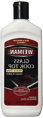 Weiman Glass Cook Top Heavy Duty Surface Cleaner / Polish 10