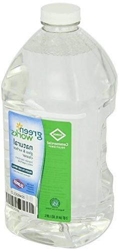 Green Works Glass & Surface Cleaner - Liquid Solution - 64 f