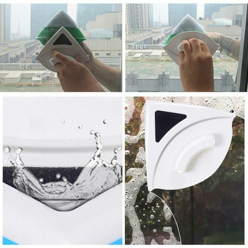 Glass Surface Brush Double Magnetic Home Window Cleaner