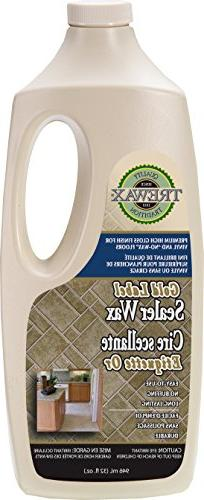 Trewax Gold Label Sealer Wax, Gloss Finish, 32-Ounce