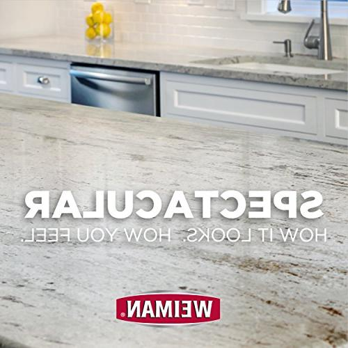 Weiman Granite Cleaner Polish - Soapstone Quartz Quartzite Limestone Laminate Countertop More