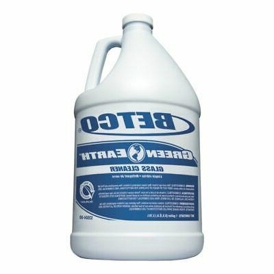 Betco Green Earth Glass Cleaner, 1 Gallon, Pack Of 4