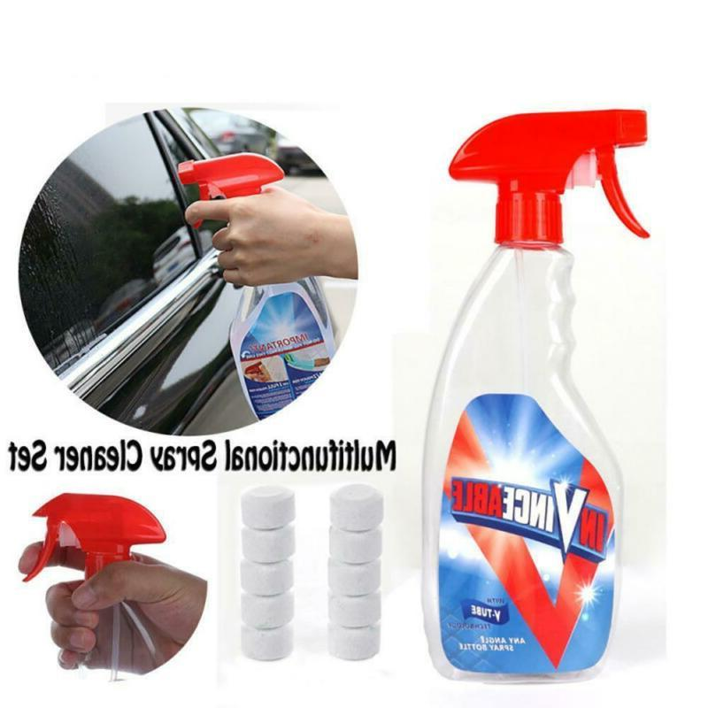 Household Windshield Glass Cleaning Effervescent Spray Multi Purpose