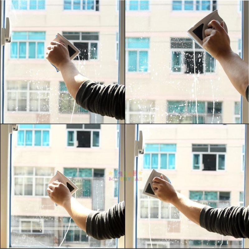 Useful Double Magnetic Window Cleaner Wiper
