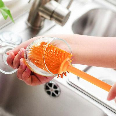 Kitchen Silicone Glass Brush Washing Cleaning