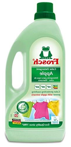 Frosch USA Color Laundry Detergent, Apple, 1.5 liters