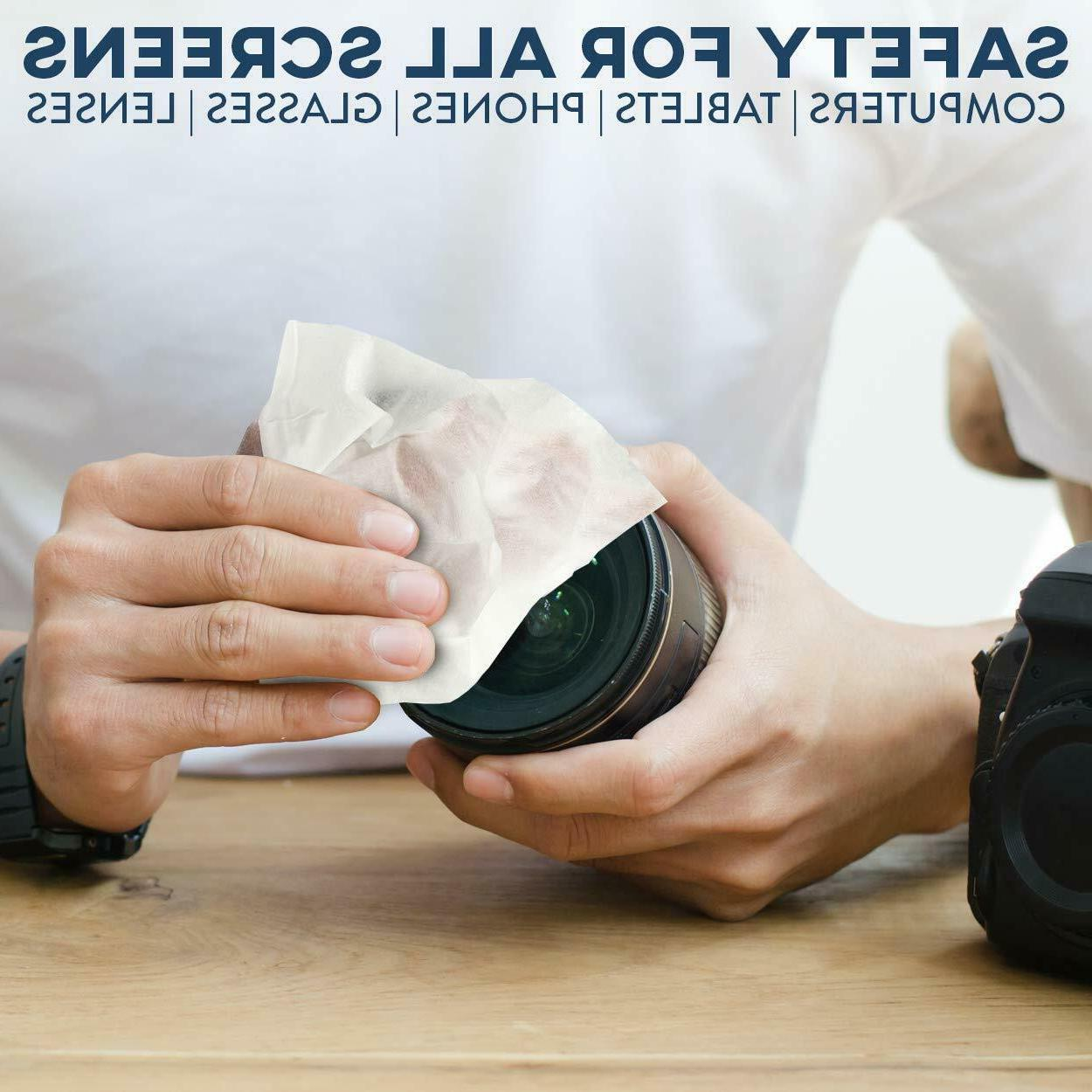 Care Touch Lens Wipes, - 210