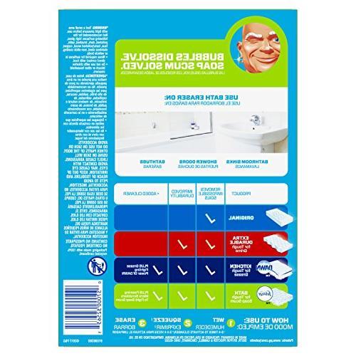 Mr. Magic Bath, Cleaning Pads with Durafoam, & Rain, 8 Count