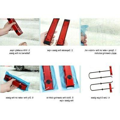Magnetic Window Cleaner Side Wiper -The