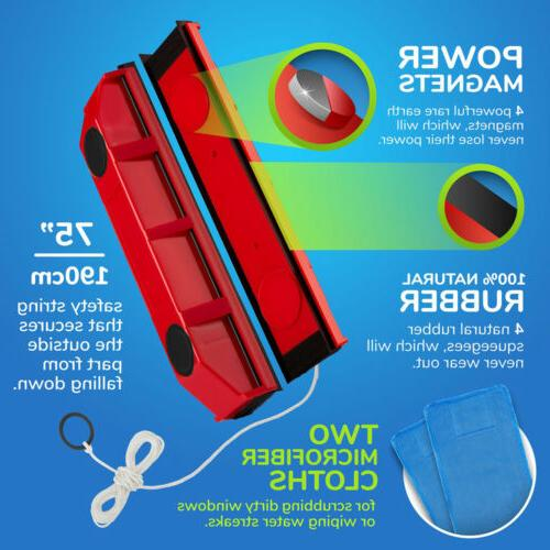 Magnetic Window Cleaner For Hard 0.08-1.1''