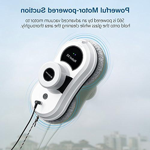 Alfawise Robot,Framed Window Cleaner for Outdoor ,Smartphone App Remote Controlled Cleaning
