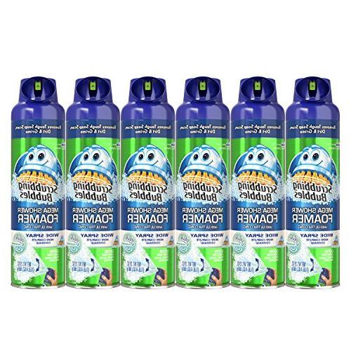 mega shower foamer aerosol