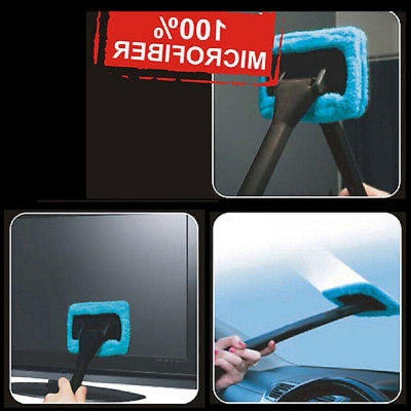 Microfiber Clean Auto Cleaner Window Tool Brush