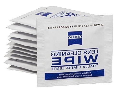 Zeiss Pre-Moistened Lens Cleaning Wipes - Cleans Bacteria Ge