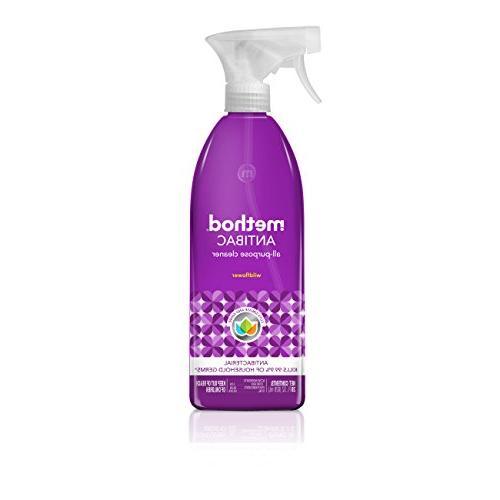 naturally derived antibacterial purpose cleaner