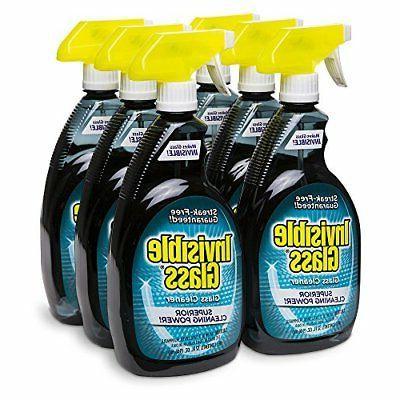 premium glass cleaner 32 oz 6 bottle
