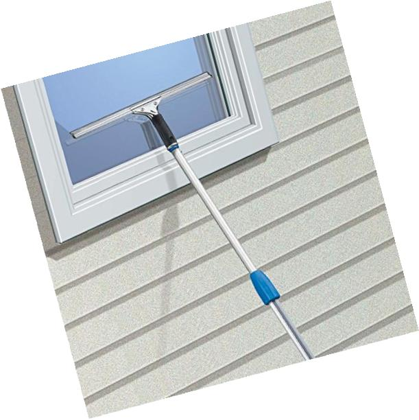 Unger Professional Steel Squeegee with Rubber,