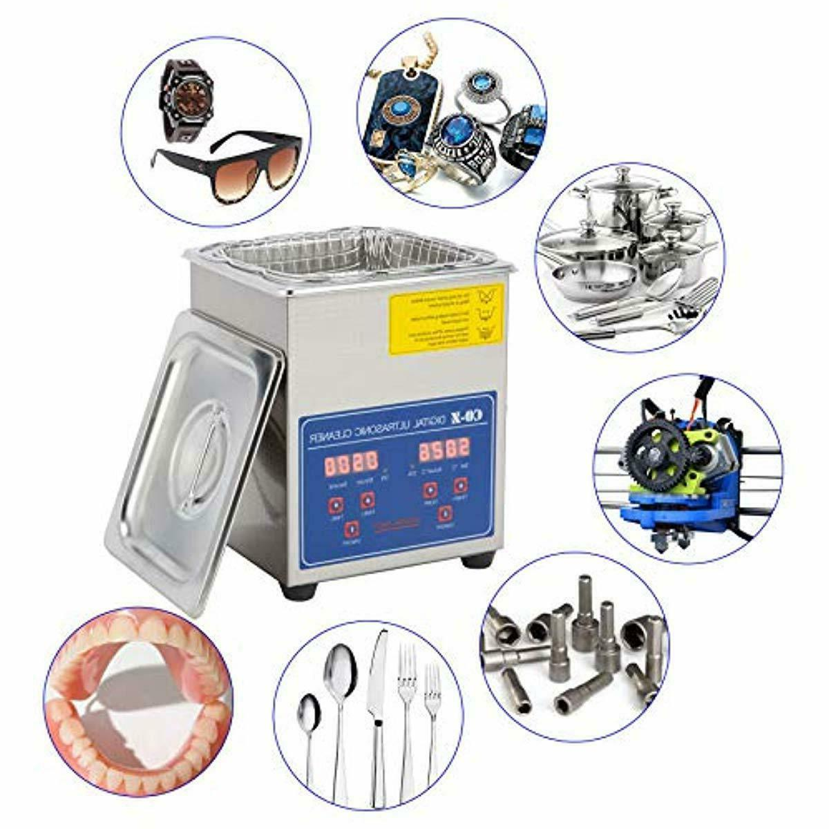 Professional Ultrasonic with Jewelry Glasses