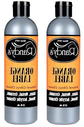 randy s orange label cleaner 3 bottles