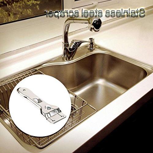 Razor Scraper Cleaner Retractable Professional Glass Tools