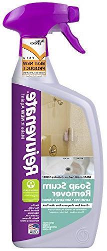 Rejuvenate Scrub Free Soap Scum Remover Non-Toxic Non-Abrasi