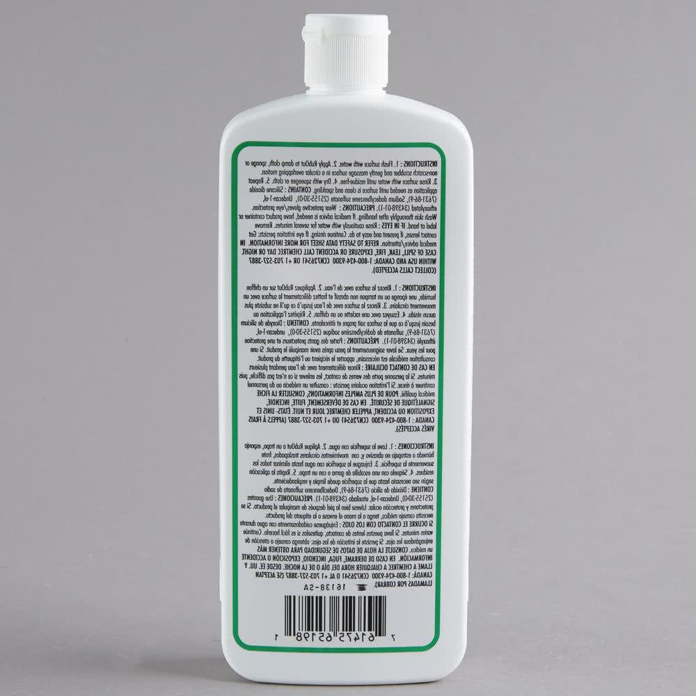 Unger 1 Pint RubOut Glass Cleaner