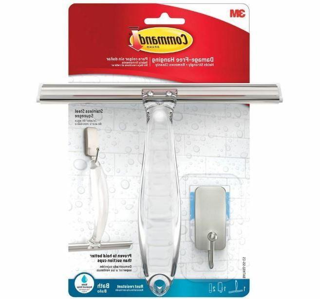 Shower Wall Squeegee Wiper Hanger