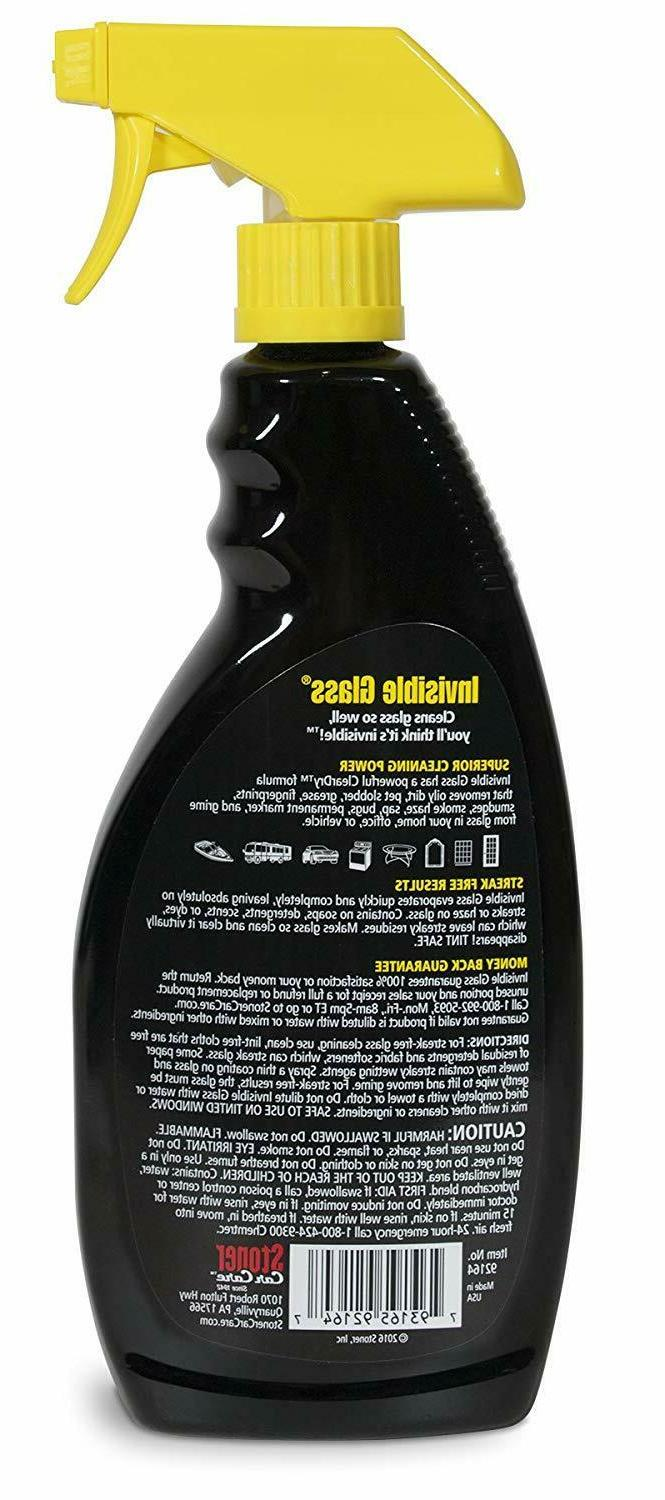 Stoner Premium Glass Cleaner, 22 fl. of 6