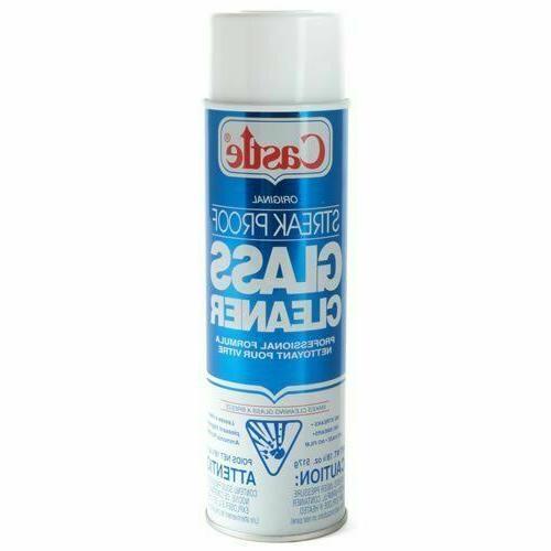Castle Streak Proof Cleaner, 12-Pack