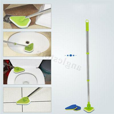 Telescopic Glass Cleaner Kitchen Brush