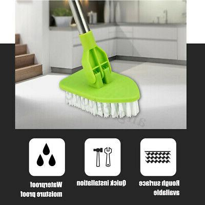 Telescopic Bathtub Cleaner & Washing Brush With 3