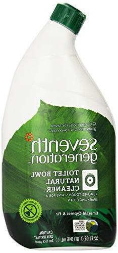 Seventh Generation Toilet Bowl Cleaner, Emerald Cypress & Fi