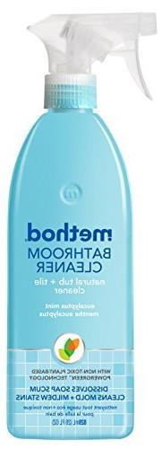 Method Tub 'N Tile Bathroom, Eucalyptus Mint, 28oz Bottle