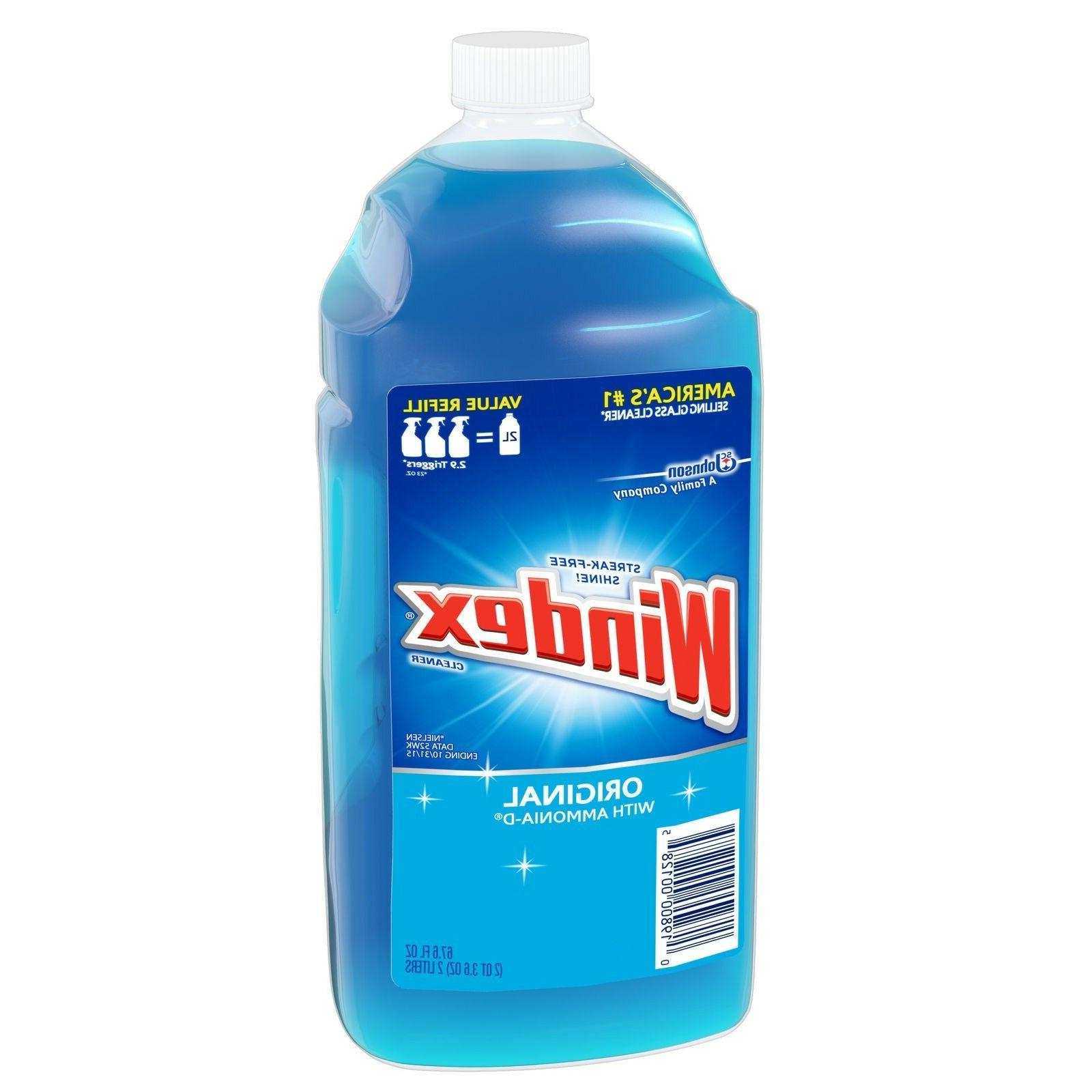 Windex Glass Cleaner with Ammonia-D, Original, oz