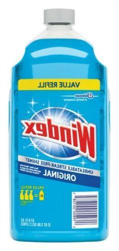 Windex Glass Cleaner with Ammonia-D, Original, 67.6 oz