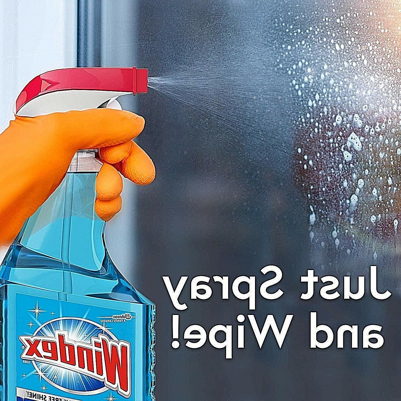 Windex spray bottle streak