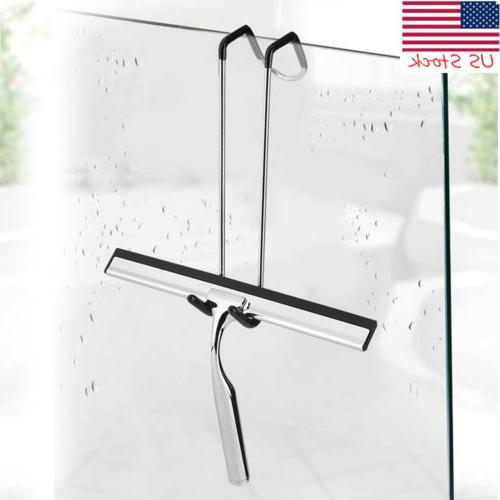 Window Glass Stainless Steel Wiper Cleaner Squeegee Shower B