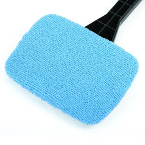 Windshield Clean Cleaner Handle Microfiber Auto