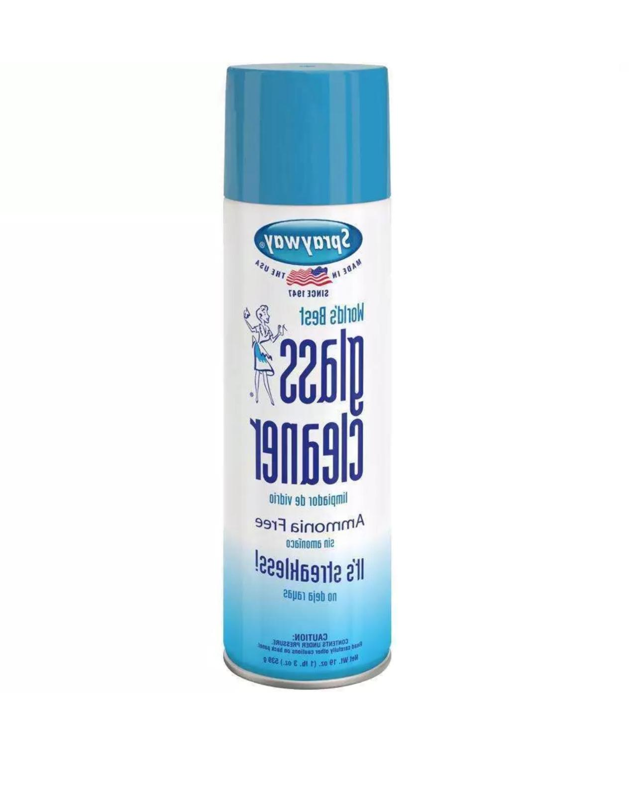 Sprayway Glass Cleaner 19 oz Can Ammonia Free Mirrors Window