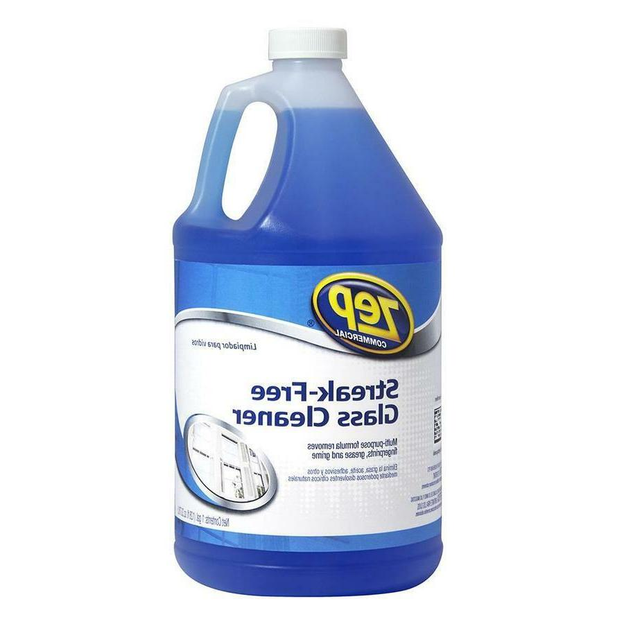 Zep Glass Cleaner Commercial Streak-Free 128 fl oz ZU1120128