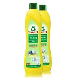 Frosch Natural Lemon Scouring Cream Cleaner, 16.9 fL oz