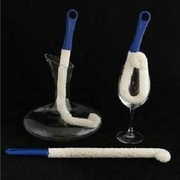 Long Neck Cleaning Brush Foam Bottle Decanter Wine Glass Bar