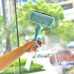 Magic Spray Water Brush Window Glass Cleaner Wiper Washing B