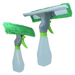 eLimpio Magic Wiper Squeegee Microfiber Window Cleaner and S