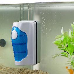 Magnetic Brush Aquarium Fish Tank Glass Algae Scraper Cleane